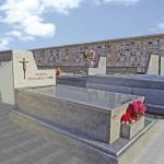 Lápida de granito modelo 19