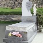 Lápida de granito modelo 17