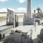 Lápida de granito modelo 26