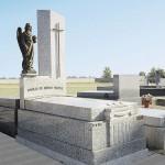 Lápida de granito modelo 27