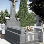 Lápida de granito modelo 30