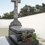 Lápida de granito modelo 31