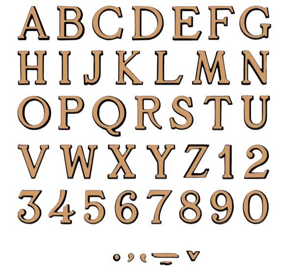 letras-bronce-esmerilado