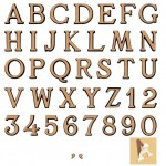 letras-bronce-romano